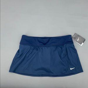 Nike Core Navy Blue Swim Skirt Medium NWT